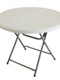round table plastic for hire