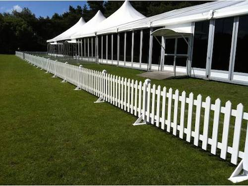 white picket fencing marquee hire wedding tent rentals. Black Bedroom Furniture Sets. Home Design Ideas