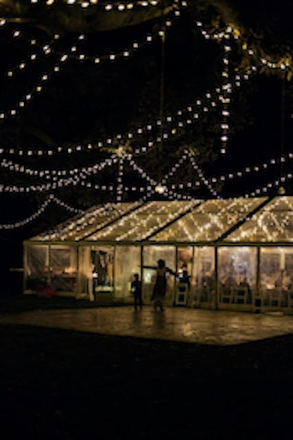 samina and dan wedding marquee hire