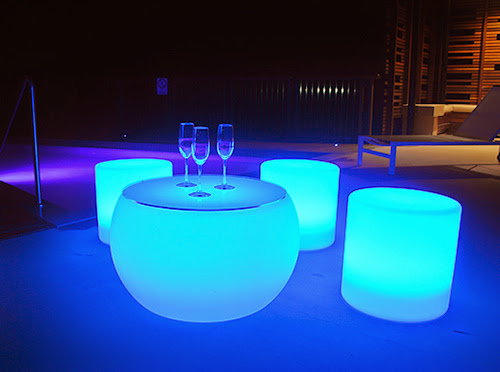 Glow Coffee Table Hire Illuminated Led Lighting Perry
