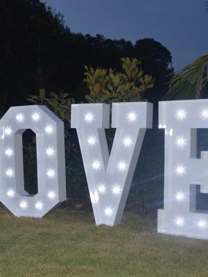 giant light up love letters 2