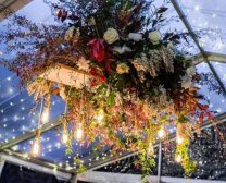 perrys-hire-floral-display-clear-marquee-hire