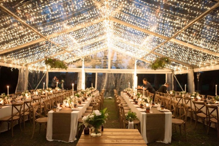 Beautiful Sunshine Coast Wedding Marquee Hire Wedding