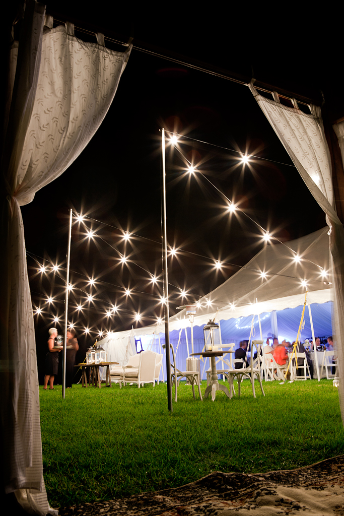 Festoon Lighting 20m Self Install Marquee Hire