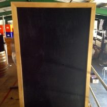 blackboard double side 2m x 1m