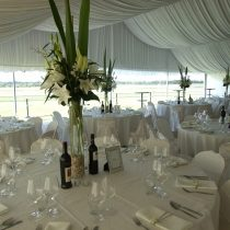 20m turf club marquee for hire