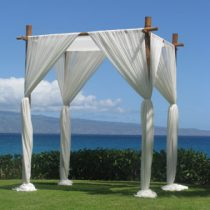 4-post-Bamboo-wedding-arbor-for-hire