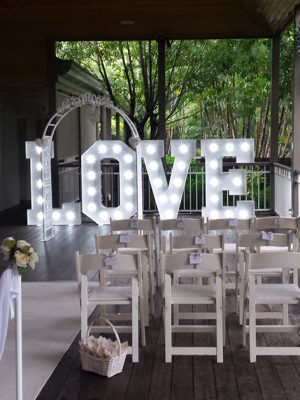 love letters ceremony