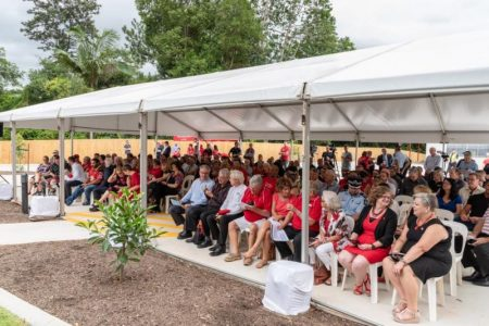 morcombe foundation daniel house launch marquee